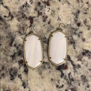 Kendra Scott Danielle earring in White
